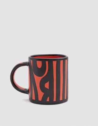 Hay Design Wood Mug in Bright Red