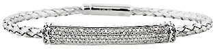 Affinity Diamond Jewelry Woven Diamond Bracelet Sterling 5/8 cttw by Aff inity