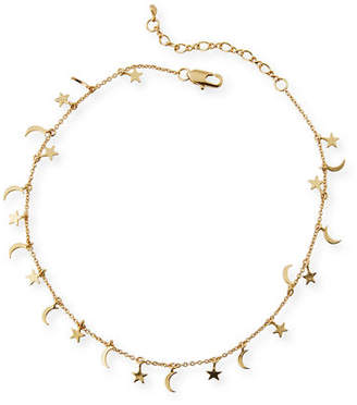 Tai Star & Moon Anklet