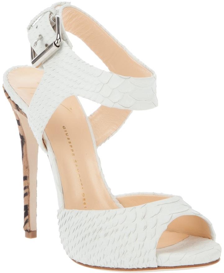 Giuseppe Zanotti Design Pattern heel sandal