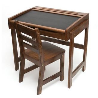 Lipper Chalkboard Kids Desk and Chair Set