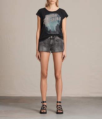 AllSaints Lea Denim Shorts