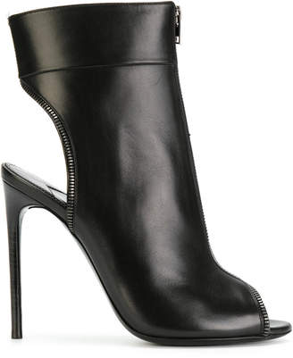 Tom Ford open toe stiletto booties