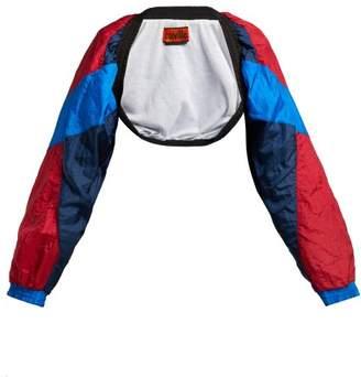 Colville - Tri Colour Bolero Sleeve Jacket - Womens - Red Multi