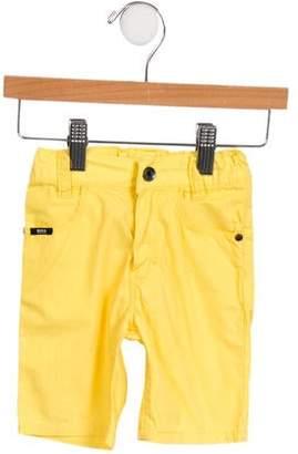 HUGO BOSS Boss by Boys' Three Pocket Knee-Length Shorts