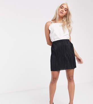 Asos DESIGN Petite plisse flippy mini skirt