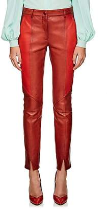 Givenchy Women's Colorblocked Leather Pants