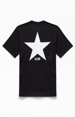 Converse Black Big Star T-Shirt