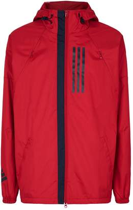 adidas Red Jackets For Men ShopStyle UK