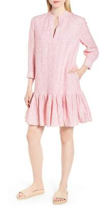 Nordstrom Signature Stripe Drop Hem Dress