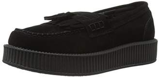 T.U.K. Unisex Suede Creeper Slip On Loafer
