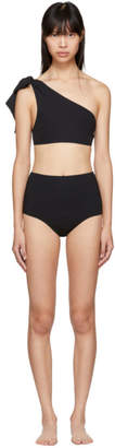 Araks Black Phoebe Mallory Bow Bikini