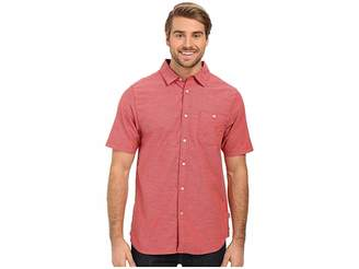 The North Face Short Sleeve Red Point Shirt Men's Short Sleeve Button Up