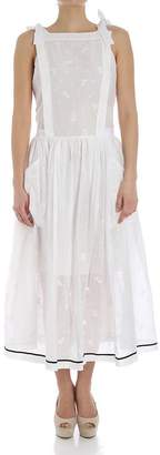 Philosophy di Lorenzo Serafini Floral Embroidered Dress