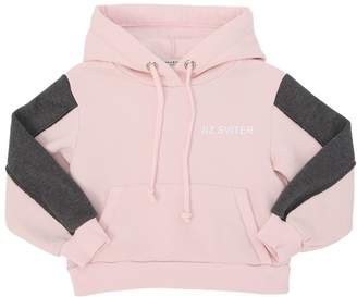 Duo Cotton Jersey Sweatshirt Hoodie