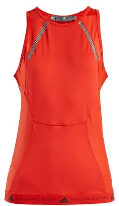 adidas by Stella McCartney Racer Back Performance Tank Top - Womens - Red