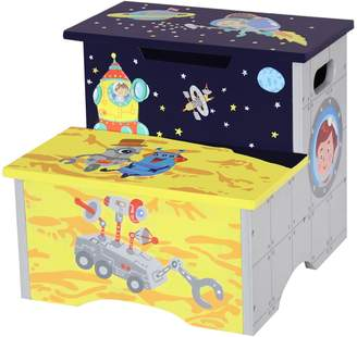 Teamson Kids Fantasy Fields Outer Space Step Stool