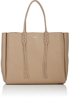 Lanvin Women's Tasseled-Handle Extra-Large Shopper $1,650 thestylecure.com
