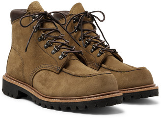 Red Wing Shoes 2926 Sawmill Roughout Leather Boots - Men - Brown