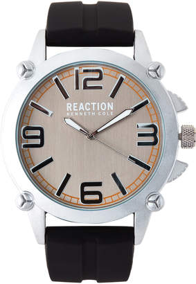 Kenneth Cole Reaction RK50091003 Silver-Tone & Black Watch