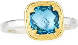 Gurhan Malibu Blue Topaz Ring, Size 8