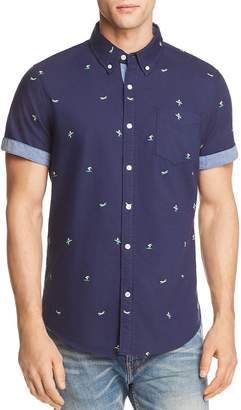 Jachs Ny Surfer Regular Fit Button-Down Shirt - 100% Exclusive