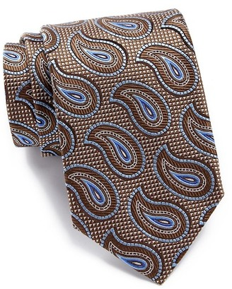 John W. Nordstrom Ferrante Pine Silk Tie $89.50 thestylecure.com