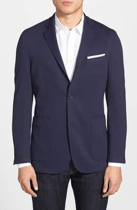 Vince Camuto Slim Fit Stretch Knit Blazer