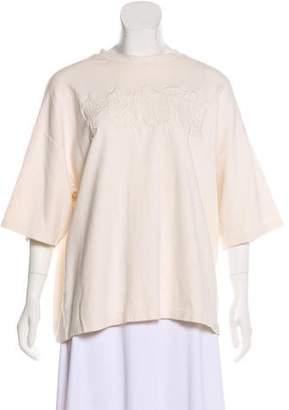 FENTY PUMA by Rihanna Embroidered Short Sleeve Top