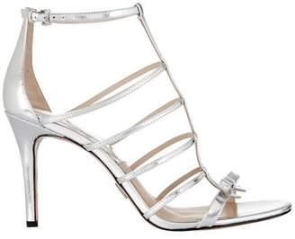 1d8f8068a285 Michael Kors Silver Sandals For Women - ShopStyle UK