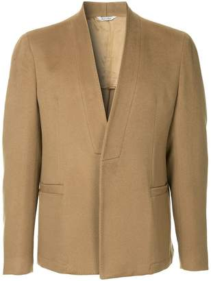 Sartorial Monk collarless blazer