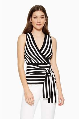 Parker Winifred Striped Knit Top