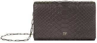 Tom Ford Python Metallic Wallet Bag