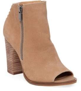 Lucky Brand Lamija Leather Booties