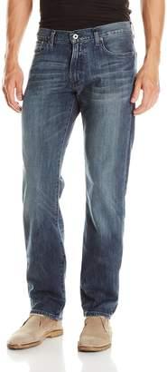 Lucky Brand Men's 221 Original Straight Leg Jean in Blue Gold