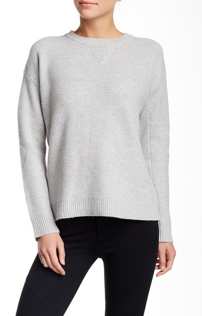 VINCE. Crew Neck Wool Blend Sweater