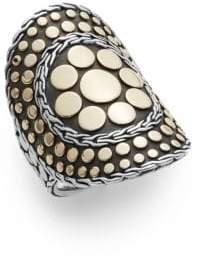 John Hardy Dot 18K Yellow Gold & Sterling Silver Nuansa Ring