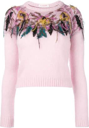 A.F.Vandevorst knit embellished jumper