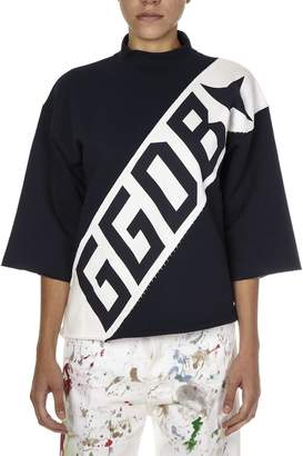 Golden Goose Navy Cotton Jersey