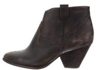 Frye Distressed Ankle Boots