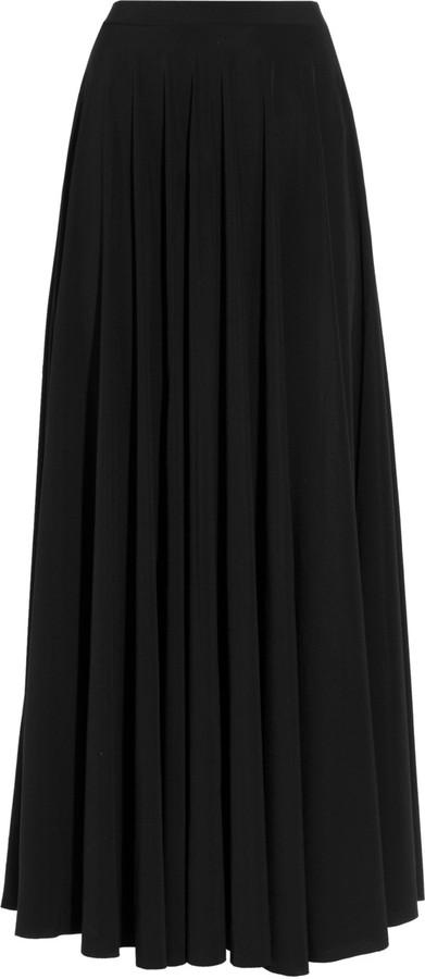 Lanvin Side-split maxi skirt