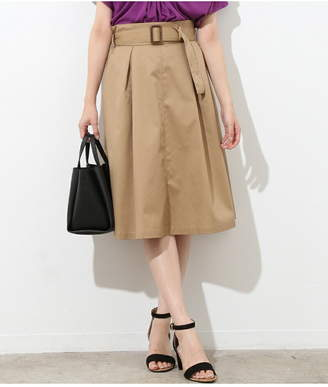 ViS (ビス) - ViS チノタックフレアスカート ビス スカート