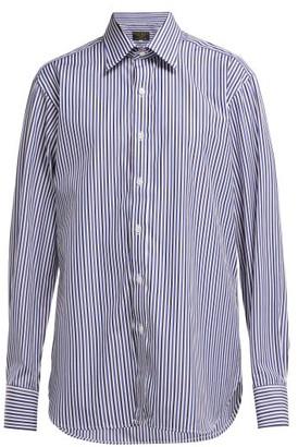 Emma Willis - Bengal Striped Cotton Shirt - Womens - Blue Multi