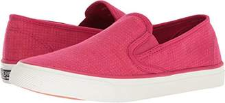 Sperry Women's Seaside Two-Tone Linen Sneaker