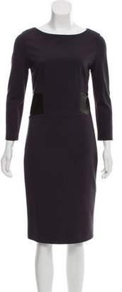 Peserico Long Sleeve Midi Dress