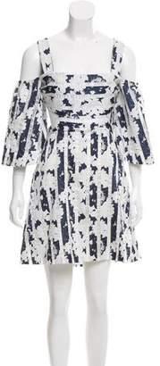 Alexis Striped Cutout Dress