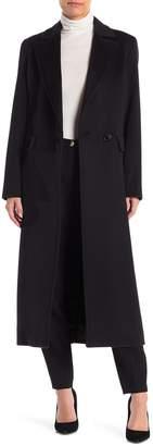 Sofia Cashmere Notch Lapel Boyfriend Coat