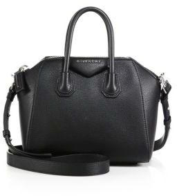 Givenchy Antigona Mini Leather Satchel $1,790 thestylecure.com