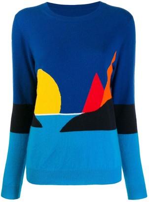 Parker Chinti & sea print sweater