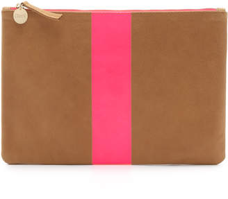 Clare V. Flat Clutch $215 thestylecure.com